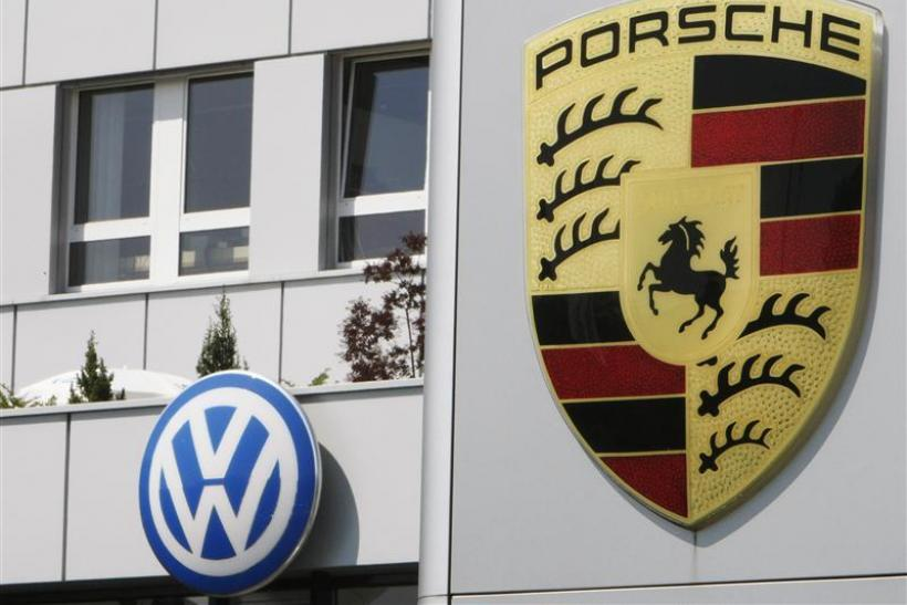 Volkswagen And Porsche Logos