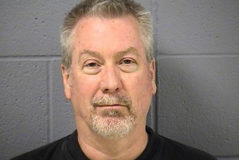 Police booking mug of former police sergeant Drew Peterson