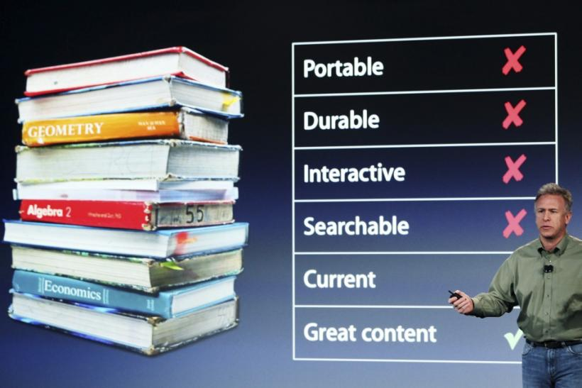 Apple's iBooks 2 for iPad has been downloaded 350,000 times in its first 3 days. There's a reason why users are downloading this app at such a high rate: The education industry has been needed this app for a long time.