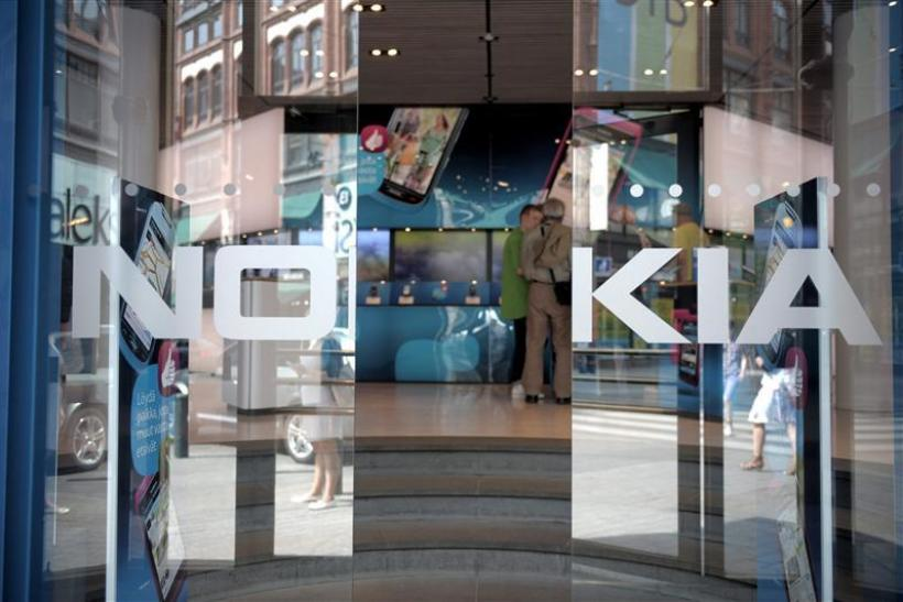 General view of the Nokia flagship store in Helsinki