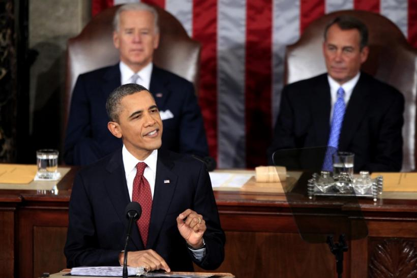 President Obama Speaks at the 2012 State of the Union