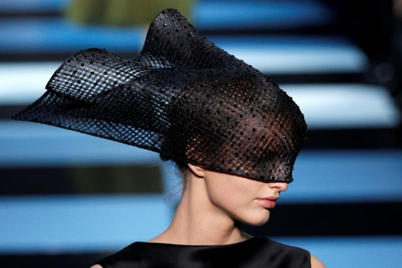 Paris Fashion Week 2012 Highlights: Statement Silhouettes Dominate Armani's Prive Couture Line