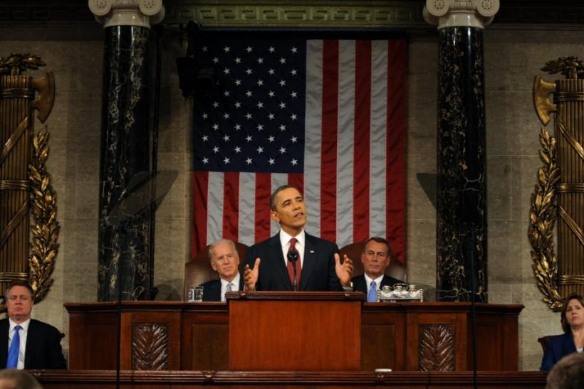 Obama State Of The Union Adress