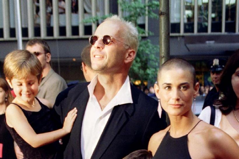"Demi Moore shaved her head for ""G.I. Jane"""