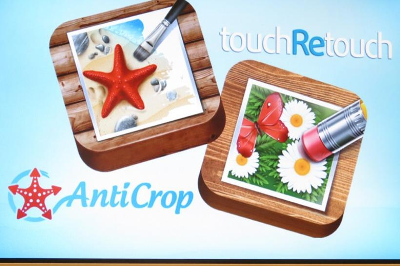 TouchRetouch & AntiCrop Apps