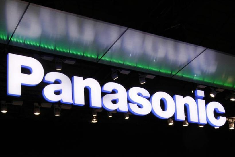 Logo of Panasonic Corp. is seen at CEATEC JAPAN 2011 electronics show in Chiba