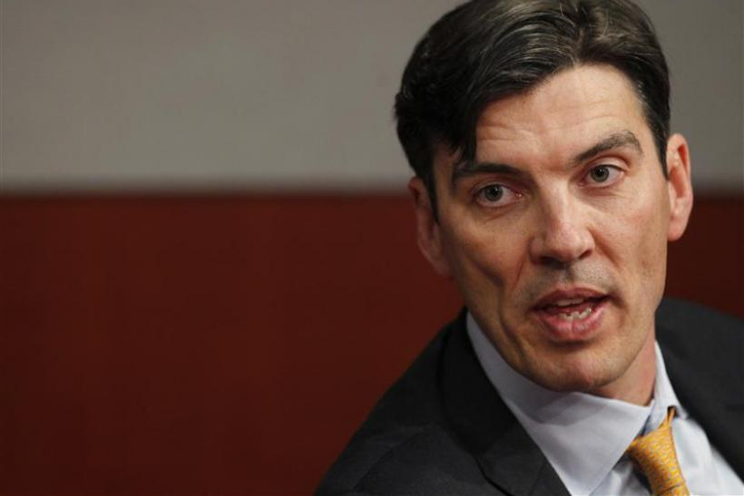 AOL chairman and Chief Executive Officer Tim Armstrong speaks at the Reuters Global Media Summit in New York