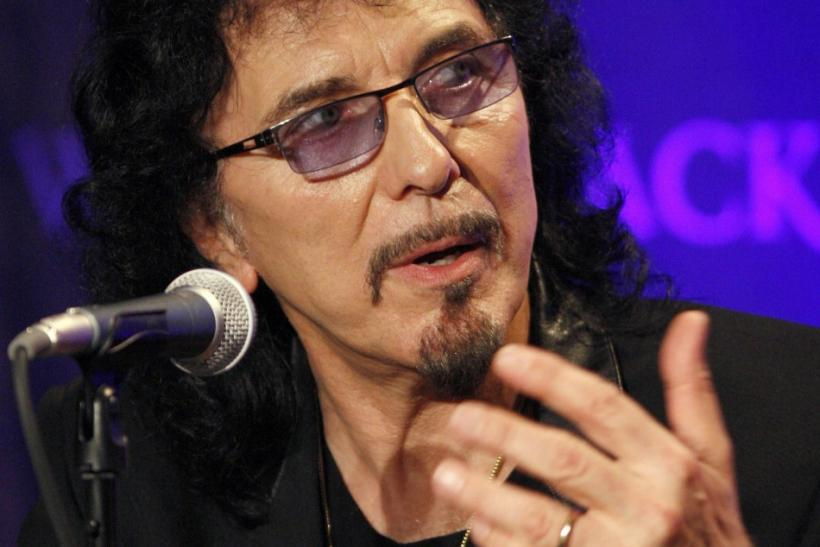 Black Sabbath's Tony Iommi