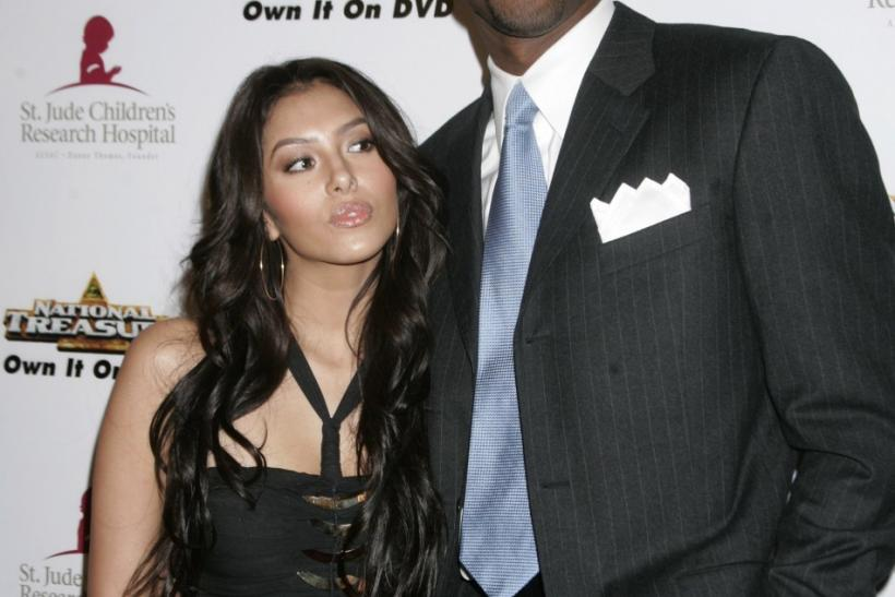 Vaness and Kobe Bryant