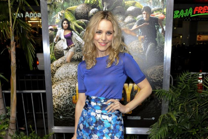 "Actress Rachel McAdams arrives at the Hollywood premiere of ""Journey 2 : The Mysterious Island"" in Los Angeles, California"