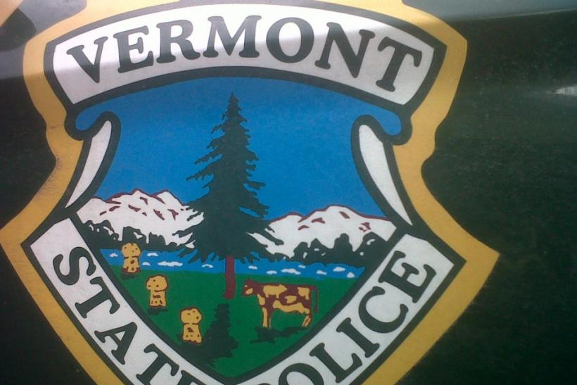 Handout photo of the Vermont State Police emblem