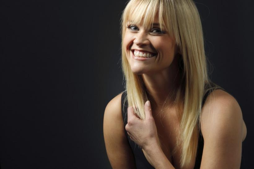 """Actress Reese Witherspoon poses for a portrait while promoting the film """"This Means War"""" in Los Angeles"""