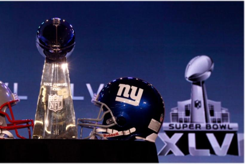 Super Bowl 2012 Vince Lombardi Trophy