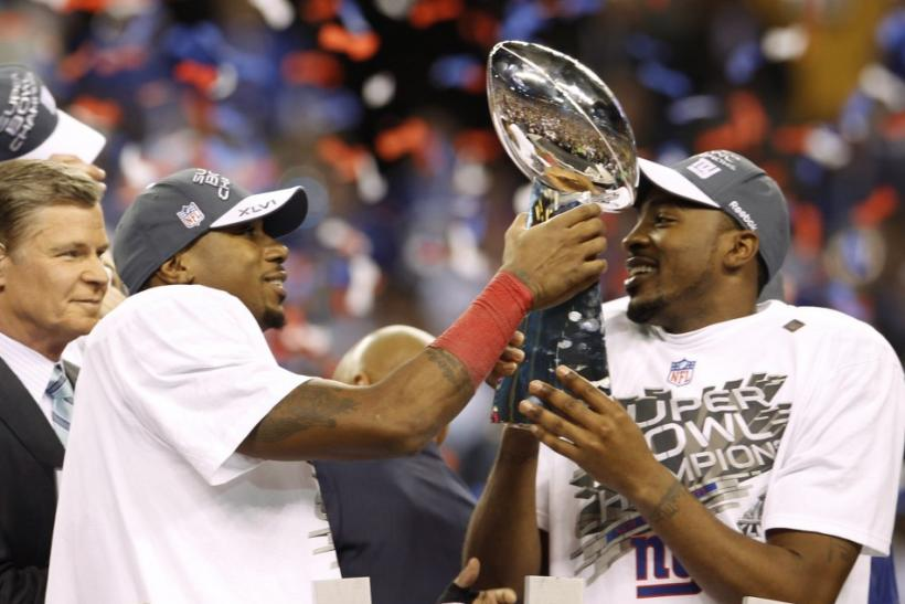 New York Giants Win Super Bowl 2012
