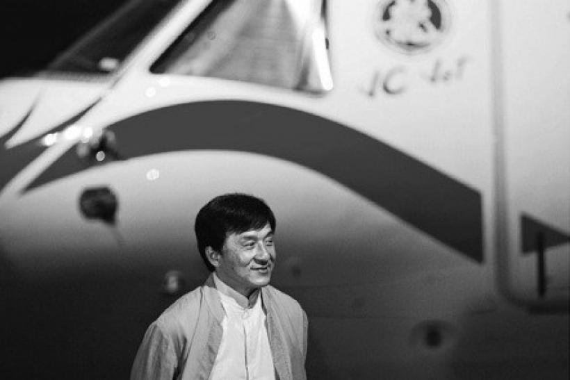 Jackie Chan Private Jet Embraer Chinese Brazil