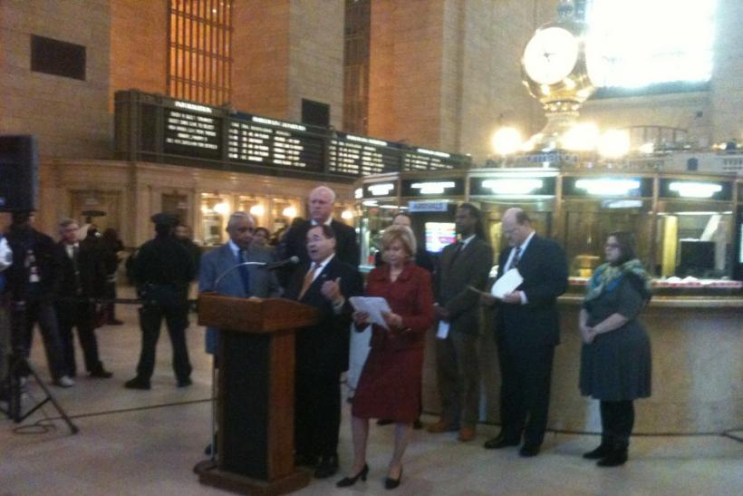 Jerrold Nadler Speaks at MTA Press Conference