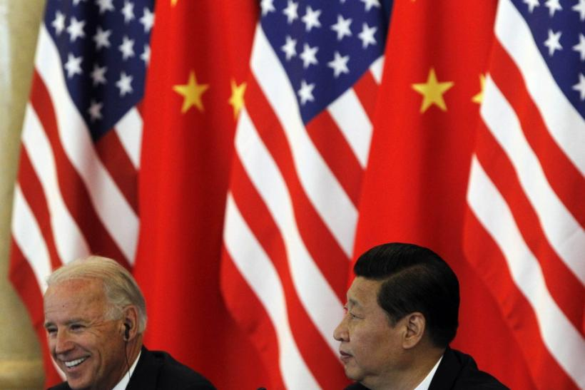 Vice President Joe Biden and Chinese Vice President Xi Jinping.