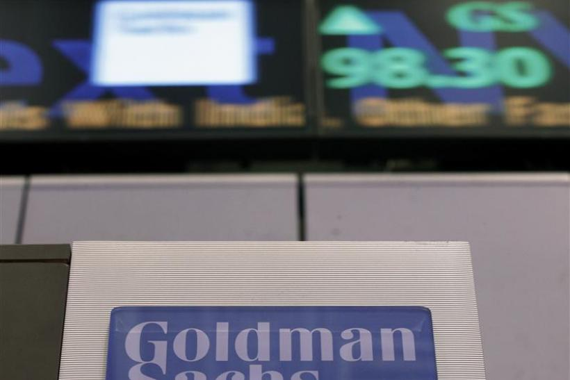 Goldman Sachs Buys  6 2b In Mortgage Bonds From Fed