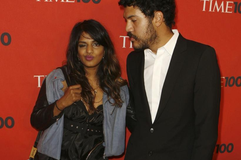 M.I.A. and Benjamin Bronfman Split