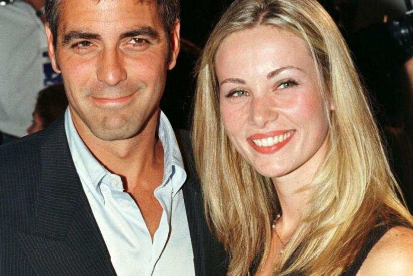 George Clooney and Celine Balitran