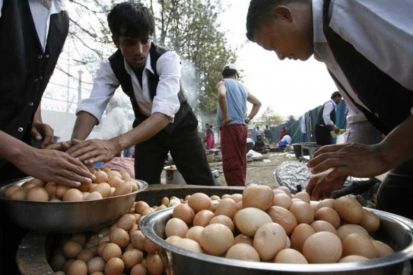 "The eggs, being referred to in Chinese media and on the internet as ""rubber eggs"" or ""ping pong eggs,"" are too hard to eat, raising suspicion they are fake, after appearing in ""small numbers"" in markets nationwide."