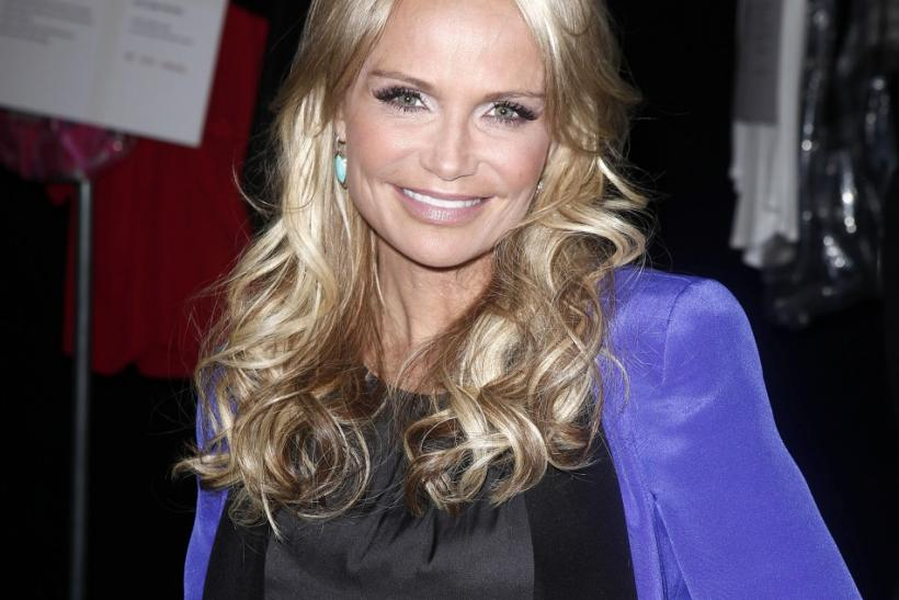 Actress Kristin Chenoweth arrives for the Rebecca Minkoff Fall/Winter 2012 collection show during New York Fashion Week