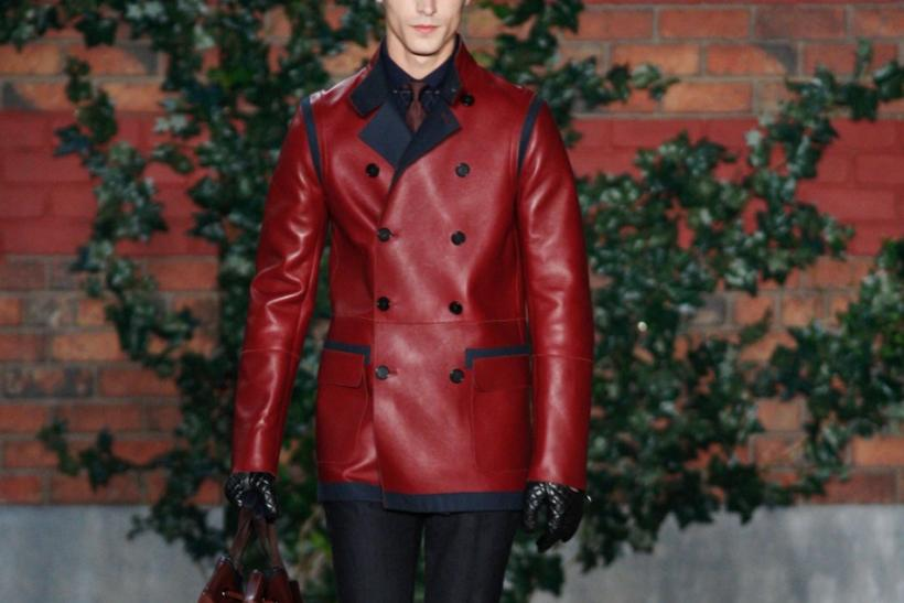 Tommy Hilfiger Showcases Sleek, Suave Military Looks for 2012 NY Fashion Week