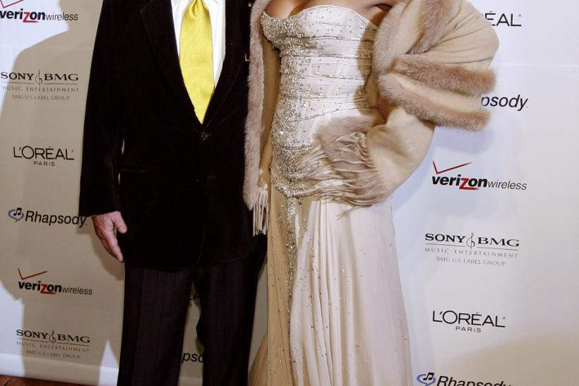 Whitney Houston with Clive Davis 2007