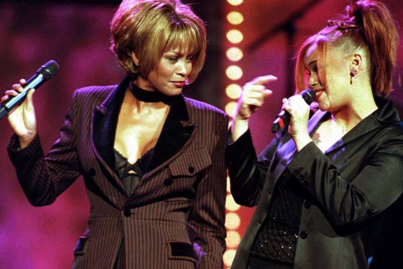 1998 -- Whitney Houston and Faith Hill