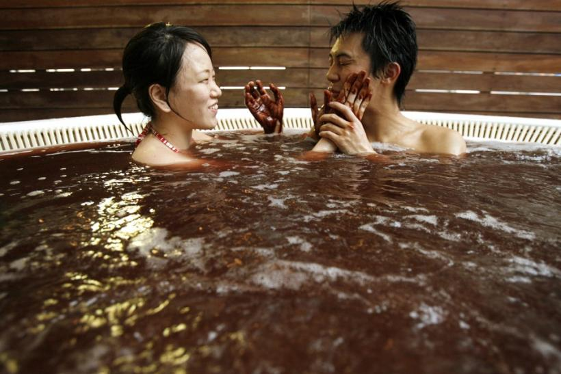 A Steamy Chocolate Bath