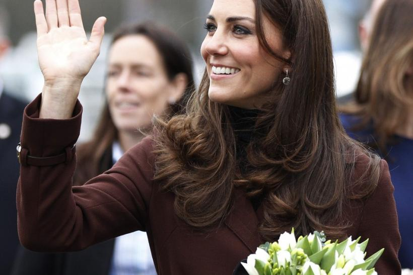 Britain's Catherine, Duchess of Cambridge visits Alder Hey Children's Hospital in Liverpoo