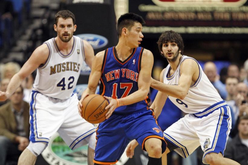 Jeremy Lin set a record with a 109 total points in his first four NBA starts.