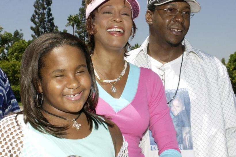 Bobby Brown, Whitney Houston and Bobbi Kristina