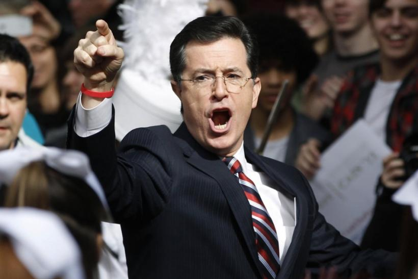 "Satirical talk show ""The Colbert Report"" has temporarily suspended production for reasons still unknown. Comedy Central has lined up Colbert Report reruns for the rest of the week, but hasn't explained why."