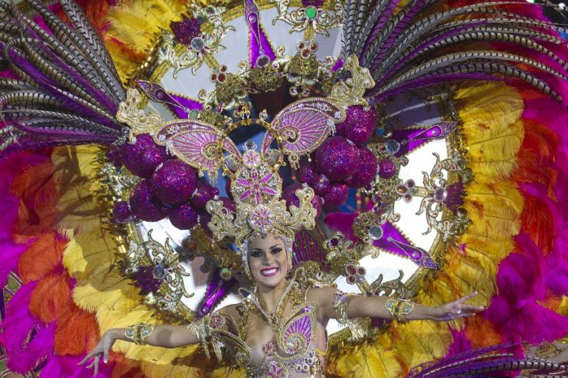 The Beautiful Spanish Carnival Queens of the Canary Islands