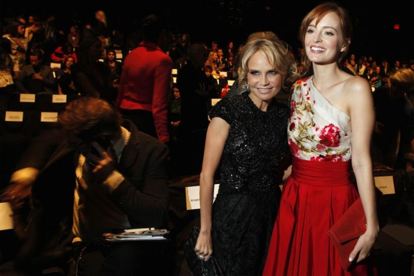 Kristin Chenoweth and Ahna O'Reilly