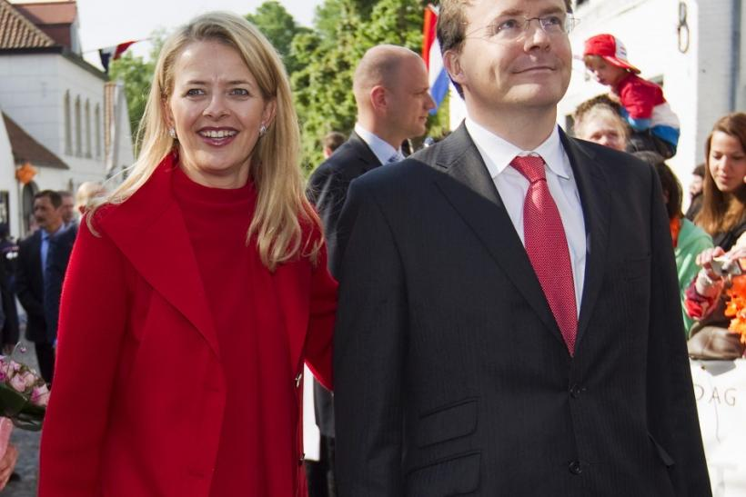 Prince Johan Friso and wife Mabel