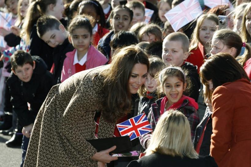 Kate Middleton Makes First Visit to Oxford as Royal Patron