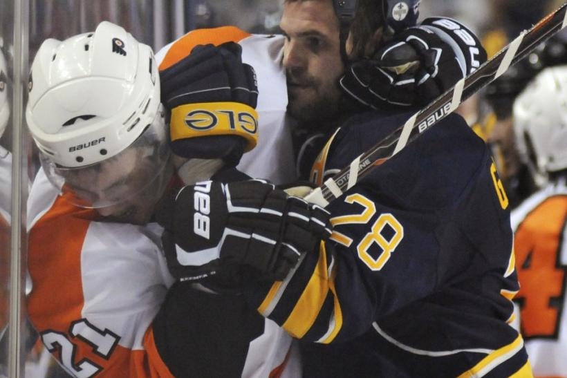 Gaustad brings size and toughness to any team, as James Van Riemsdyk can attest.