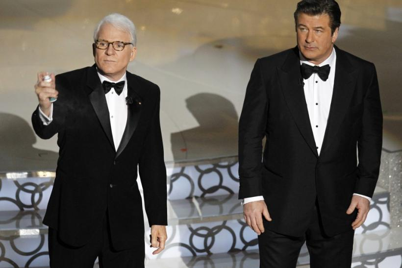 Steve Martin and Alec Baldwin (2010)