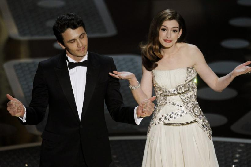 James Franco and Anne Hathaway (2011)