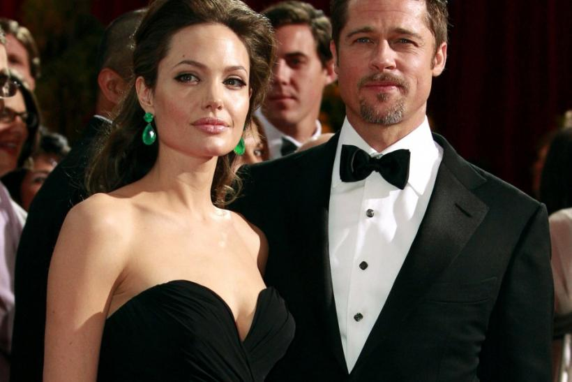 Angelina jolie cried when brad pitt proposed