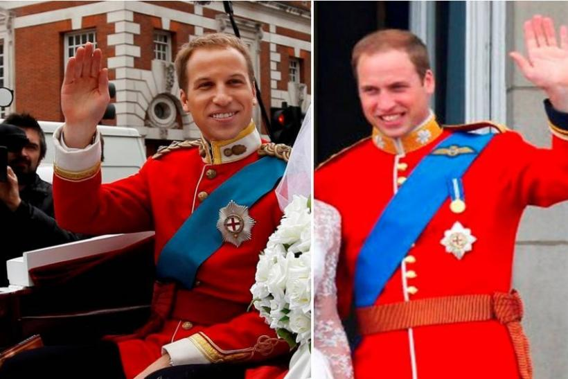 Prince William and his lookalike