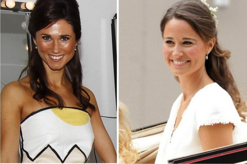 Pippa Middleton and her lookalike