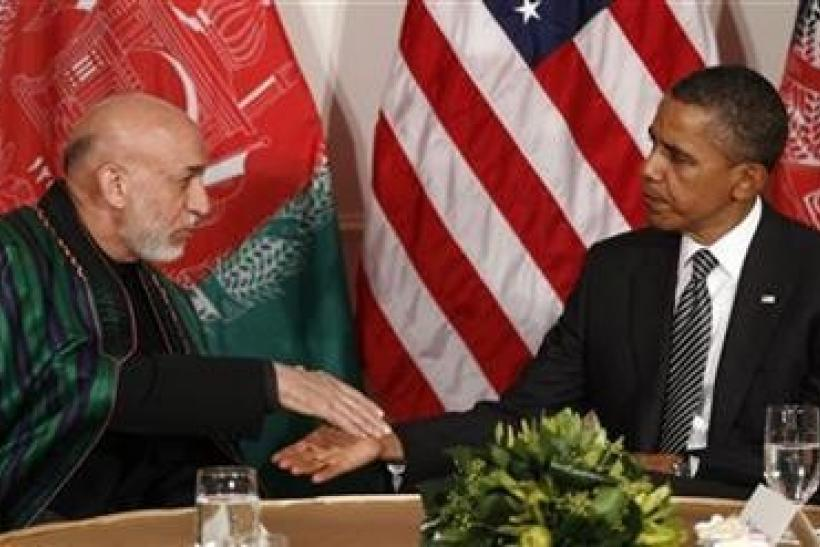 Hamid Karzai, Barack Obama