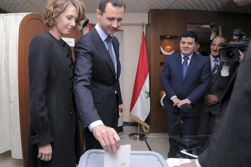Assad Vote