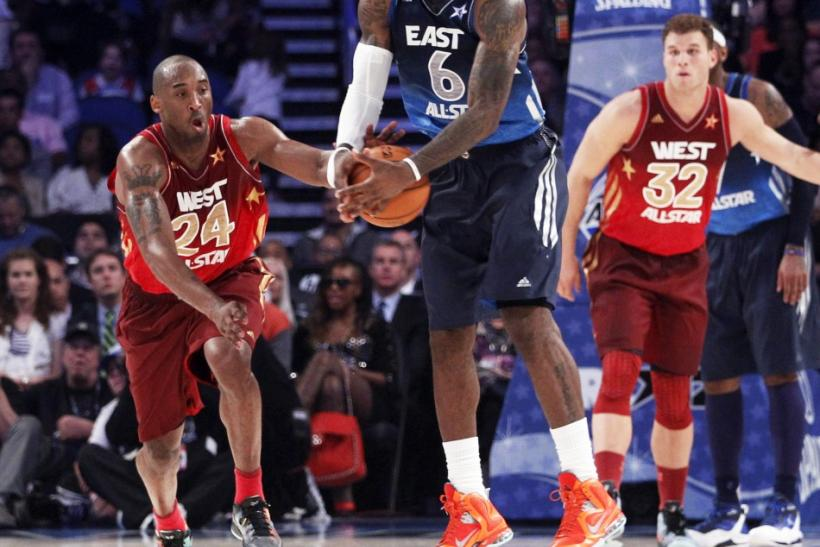 LeBron James played in his eighth straight All-Star Game on Sunday night.