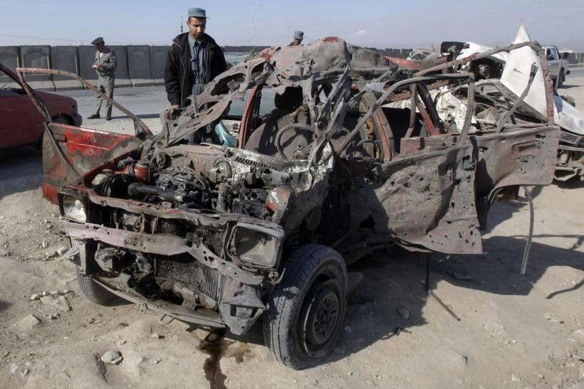 Afghanistan Car Bombing