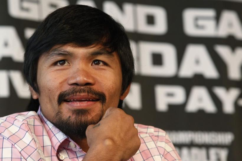 Pacquiao has said that a fight with Floyd Mayweather could still happen this year, according to reports