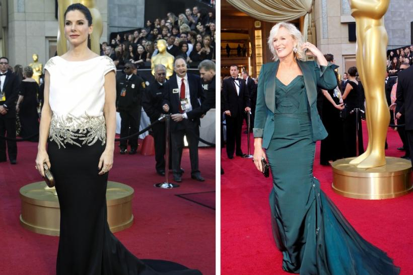 Sandra Bullock and Glenn Close